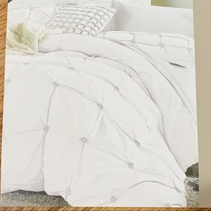 Handstitch Embroidery 100% cotton duvet set